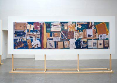 """Vista de la exposición """"Ya no, todavía no"""", de Iñaki Bonillas, en kurimanzutto, Ciudad de México, 2018. Cortesía de la galería"""