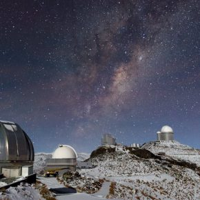 Observatorio La Silla. Cortesía: CCESantiago