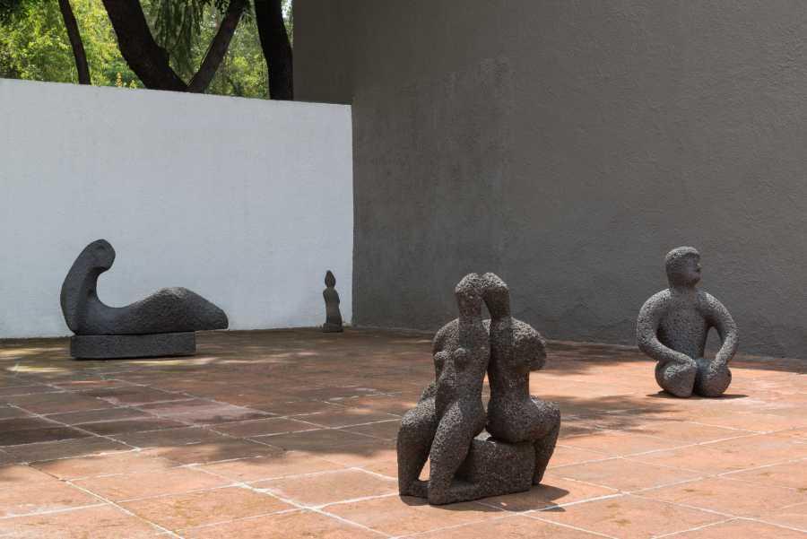 """Vista de la exposición """"Geles Cabrera: primera escultora de México"""", en el Museo Experimental El Eco, Ciudad de México, 2018. Cortesía del Museo Experimental El Eco. Foto: Rodrigo Valero Puertas"""
