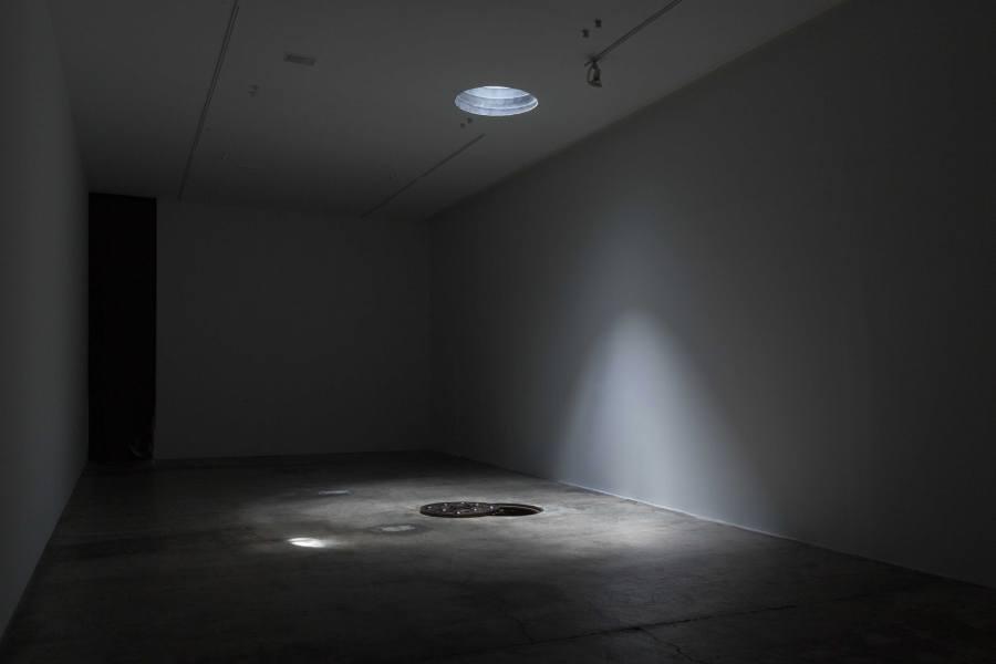 """Vista de la exposición """"Cenote"""", de Pablo Vargas Lugo, en Labor, Ciudad de México, 2018. Cortesía de la galería"""