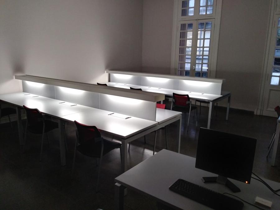 Una de las nuevas salas del Centro de Estudios Espigas, en Buenos Aires. Cortesía: Centro de Estudios Espigas