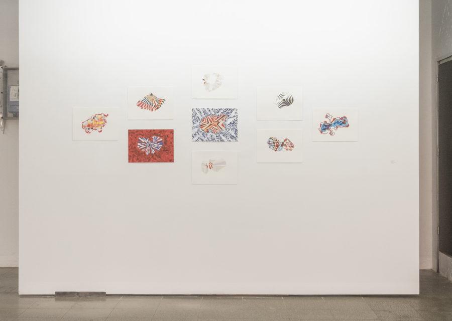 Nayda Collazo-Llorens en la exposición Un hecho de diferencias, Ana Mas Projects, Barcelona, 2018. Foto: Diana Rangel. Cortesía de la galería