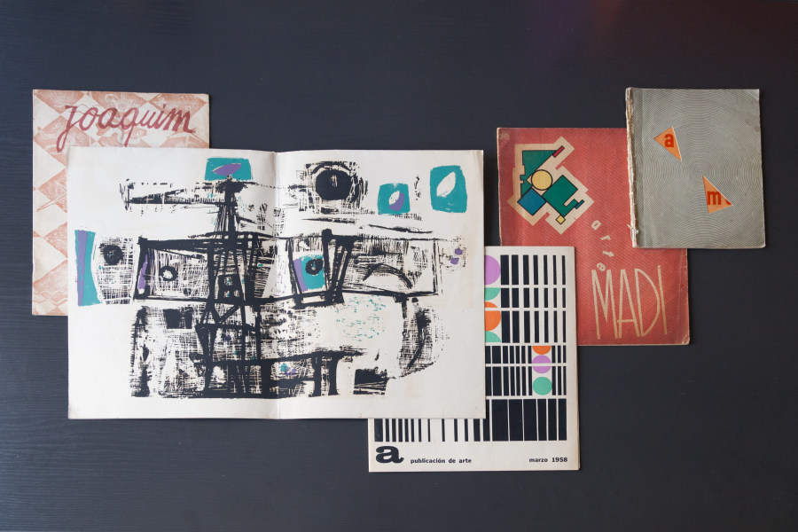 Material del archivo del Centro de Estudios Espigas, Buenos Aires. Foto: Pablo Carrera Oser