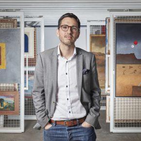 Nicolás Gómez Echeverri, nuevo director del Museo de Arte Contemporáneo (MAC) - Lima © Foto: Juan Pablo Murrugarra / Cortesía MAC Lima