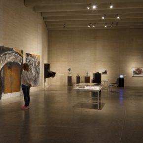 Wolf Vostell, VIDA = ARTE = VIDA. Vista de la exposición en MUSAC, Museo de Arte Contemporáneo de Castilla y León, 2018