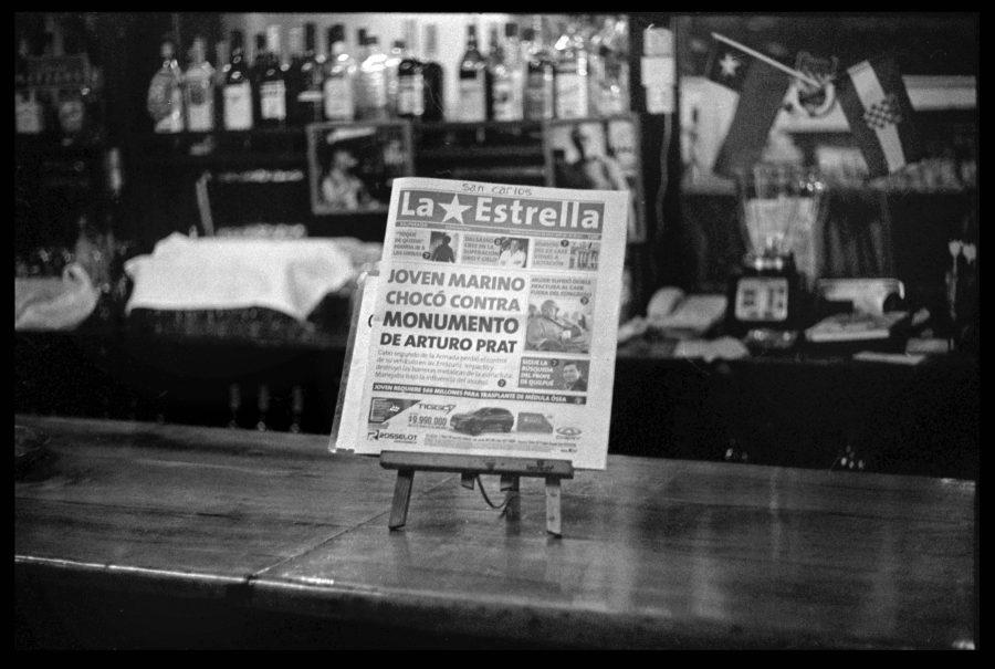 """Parte de la muestra """"¿El tiempo es una ilusión?"""", de Julia Toro, en el Parque Cultural de Valparaíso (PCdV), Chile, 2018. Foto: ©Julia Toro. Cortesía: FIFV"""