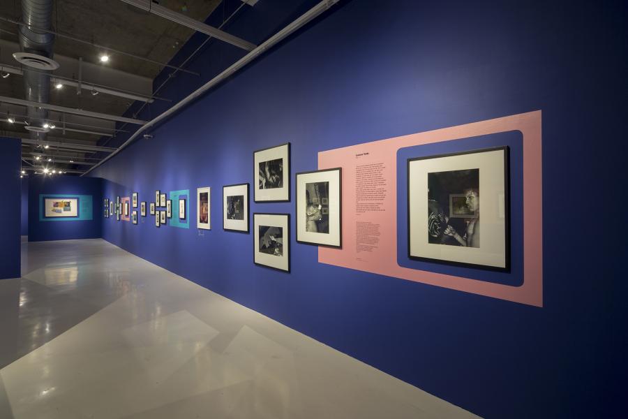 """Vista de la exposición """"Noches fieras"""", que se presenta en el Museo Universitario del Chopo, Ciudad de México, bajo la curaduría de Alexis Fabry, 2018. Cortesía del museo"""