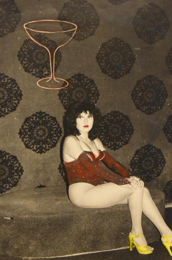 Armando Cristeto (México), Polymarchs, de la serie Noches del reventón, México, 1985, plata sobre gelatina. Cortesía: Museo del Chopo