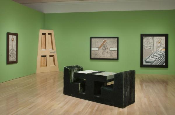 """Vista de exposición """"Richard Artschwager!"""", en el Hammer Museum, Los Angeles, 2013. Foto: Robert Wedemeyer"""