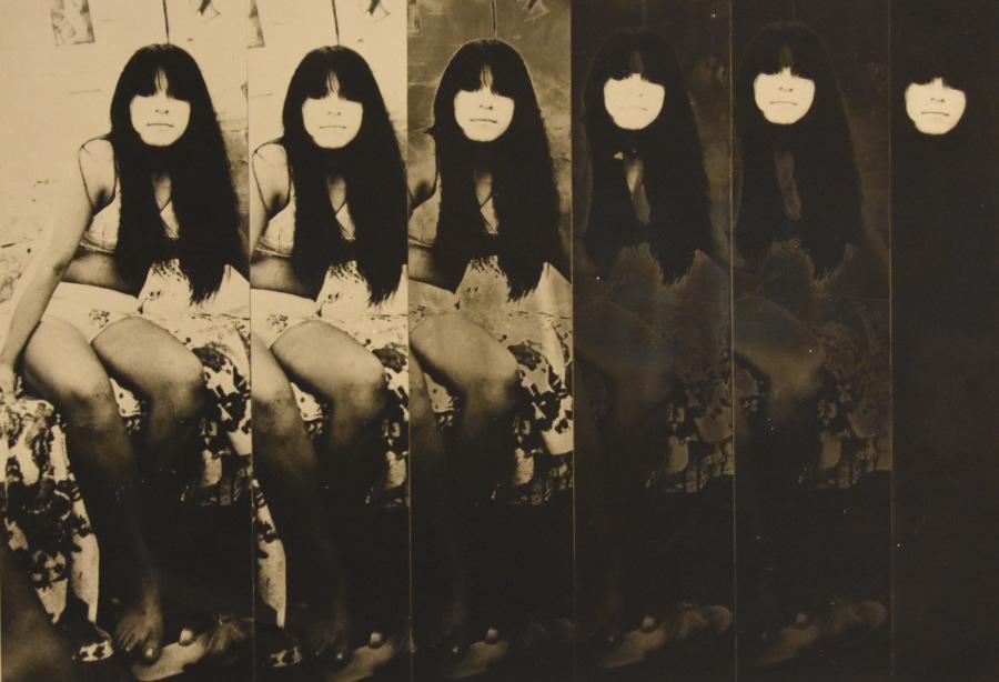 Fernell Franco (Colombia), De la serie Prostitutas,fotomontaje, 1970-1972, plata sobre gelatina. Cortesía: Museo del Chopo