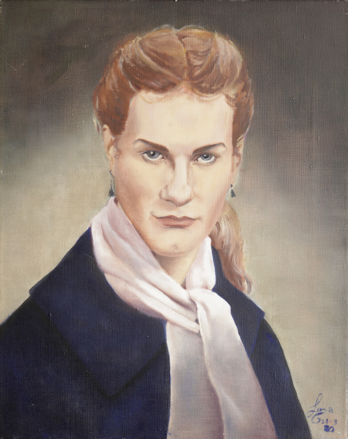 Lorenza Böttner, Sin título, 1980, acrílico sobre tela. Cortesía: La Virreina Centre de la Imatge
