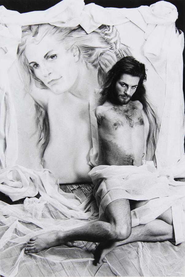 Lorenza Böttner, Sin título, (sin fecha), fotografía en blanco y negro. Cortesía: La Virreina Centre de la Imatge