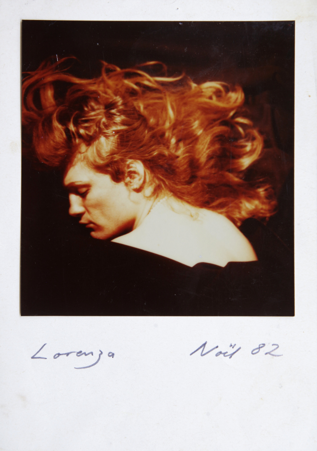 Lorenza Böttner, Sin título, 1982, polaroid. Cortesía: La Virreina Centre de la Imatge