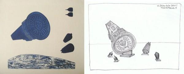 Pilar Quinteros, boceto paraProyecto Transespacial: El Último de los Idolos, 2013