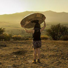 Pilar Quinteros, Leviathan de los Desiertos, el Volátil desconocido, 2013, video, modelos a escala