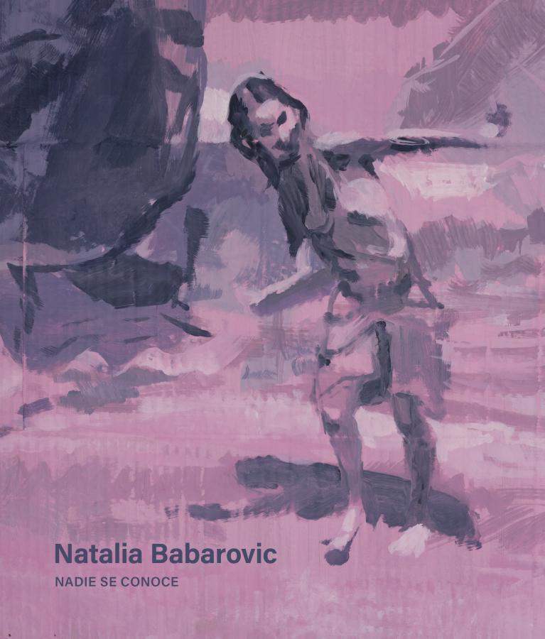Nadie se conoce, libro sobre la obra de Natalia Babarovic. Editorial Saposcat
