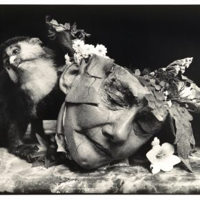 Joel-Peter Witkin, Face of A Woman, 2004, copia en gelatina de plata. Cortesía: Catherine Edelman Gallery//PUG
