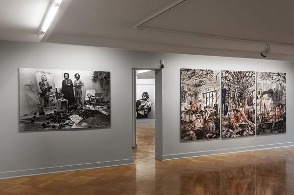 Jorge Brantmayer,Diario. Estudio, pose, modelos y autorretratos 1979-2012,Galería D21, Santiago
