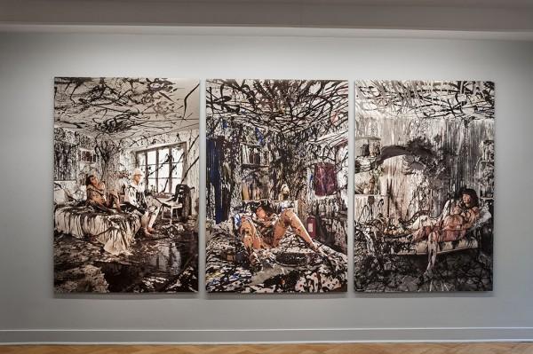 Jorge Brantmayer, Diario. Estudio, pose, modelos y autorretratos 1979-2012,Galería D21, Santiago