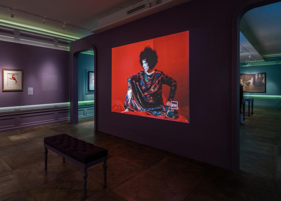 """Vista de la exposición """"Leonor Fini: Theatre of Desire, 1930-1990"""", en The Museum of Sex (MoSEX), Nueva York, 2018-2019. Foto: Kris Graves/MoSEX"""