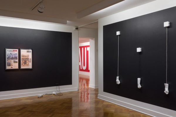 Camilo Yáñez, Punto Muerto, vista de la exposición en D21 Galería de Arte, 2013. Foto: Jorge Brantmayer
