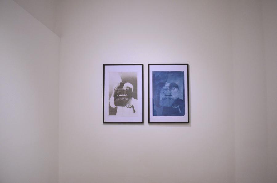"""Vista de la exposición """"Todo lo que está hecho, está hecho para decaer"""", de Lucía von Sprecher, Museo Provincial de Fotografía Palacio Dionisi, Córdoba, Argentina, 2018. Cortesía de la artista"""