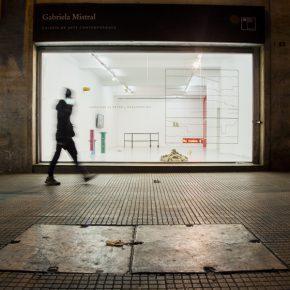 Fachada de la Galería Gabriela Mistral, Santiago, Chile