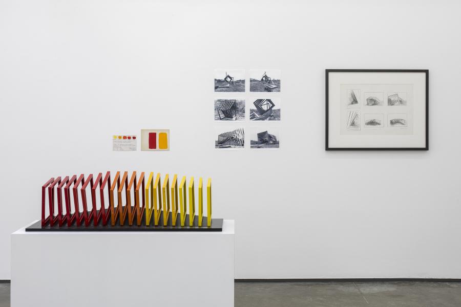 Helen Escobedo: The Potential of the Sculpture. Installation view in Proyectos Monclova, Mexico City. Courtesy: The Estate of Helen Escobedo and Proyectos Monclova. Photo: Ramiro Chaves