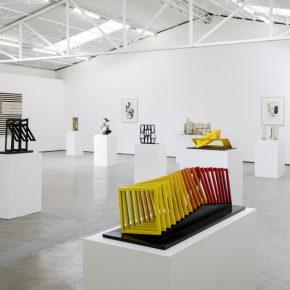 Helen Escobedo: El potencial de la escultura. Vista de la exposición en Proyectos Monclova, Ciudad de México. Cortesía: Legado de Helen Escobedo y Proyectos Monclova. Foto: Ramiro Chaves