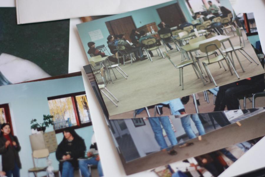 CEPSS Centro de Educación y Prevención en Salud Social y SIDA, Concepción, Chile, años 90. Fotografía cortesía Christian Rodríguez
