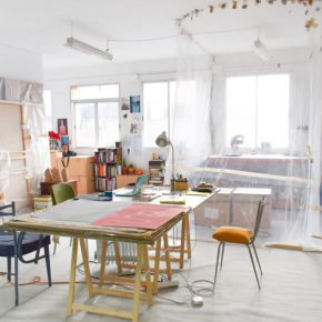Taller Fuentesal & Arenillas, Matilde Hernández, 36 - 3º Dcha., Madrid. Cortesía: Open Studios