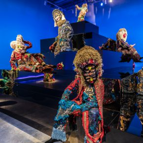 Installation view, Raúl de Nieves: Fina, February 2–April 28, 2019. The Cleveland Museum of Art at the Transformer Station. Photo © The Cleveland Museum of Art