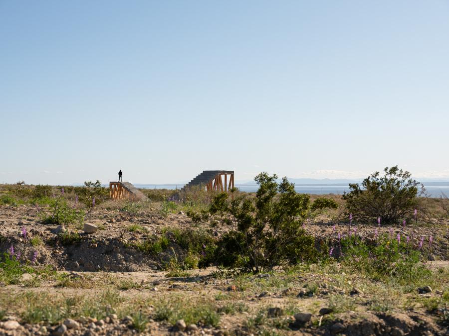 IVÁN ARGOTE, A POINT OF VIEW, 2019. Desert X, Valle de Coachella, Sur de California, EEUU, 2019. Foto: Lance Gerber
