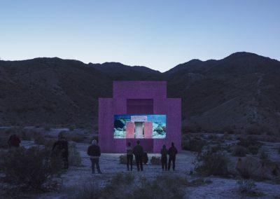 SUPERFLEX, DIVE-IN, 2019. Desert X, Valle de Coachella, Sur de California, EEUU, 2019. Foto: Lance Gerber