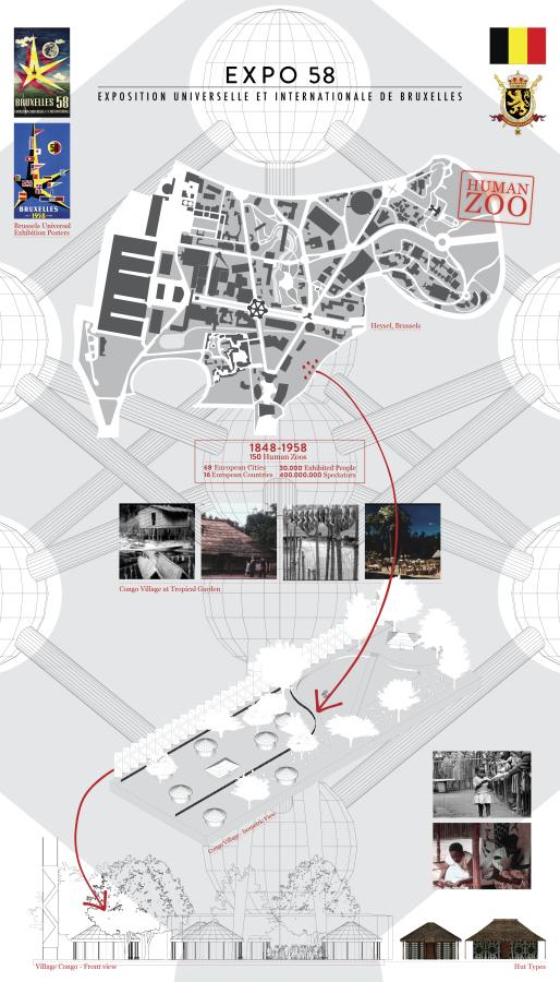 Voluspa Jarpa, Expo 58. Bruselles, 2019, impresión sobre papel, 86,5 x 56,5 cm. Cortesía de la artista y Galería Patricia Ready, Santiago de Chile