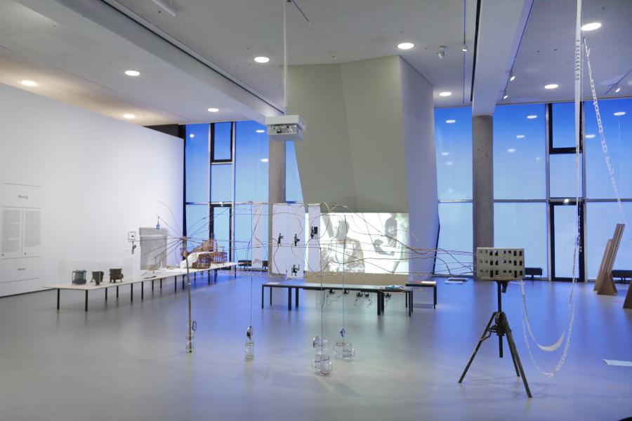 "Vista de la exposición ""bauhaus imaginista"", en Haus der Kulturen der Welt (HKW), Berlín, 2019. Foto: © Silke Briel / HKW"