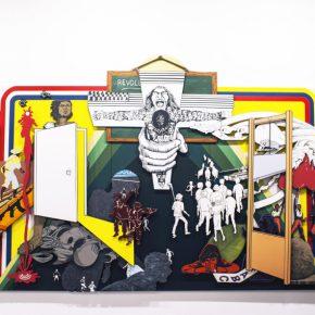 Claudia Martínez Garay, en Ginsberg Galería, Lima, parte de la sección Perú en Arco. Foto: Mariella Sola