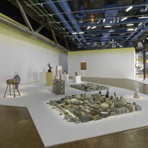 Vista de la exposición de Erika Verzutti en el Centre Pompidou, París, 2019. Foto: Audrey Laurans