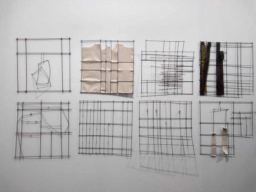 Obras de Verónica Vázquez en la galería Piero Atchugarry (Uruguay), sección Residents de la feria Art Dubai, 2019. Foto: Alejandra Villasmil