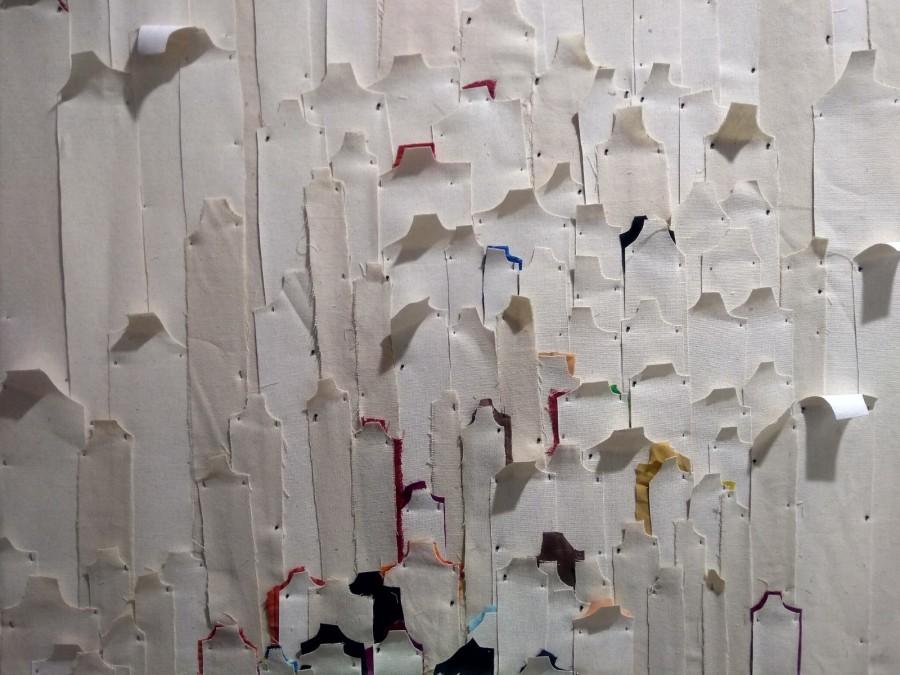 Obra de Verónica Vázquez en la galería Piero Atchugarry (Uruguay), sección Residents de la feria Art Dubai, 2019. Foto: Alejandra Villasmil