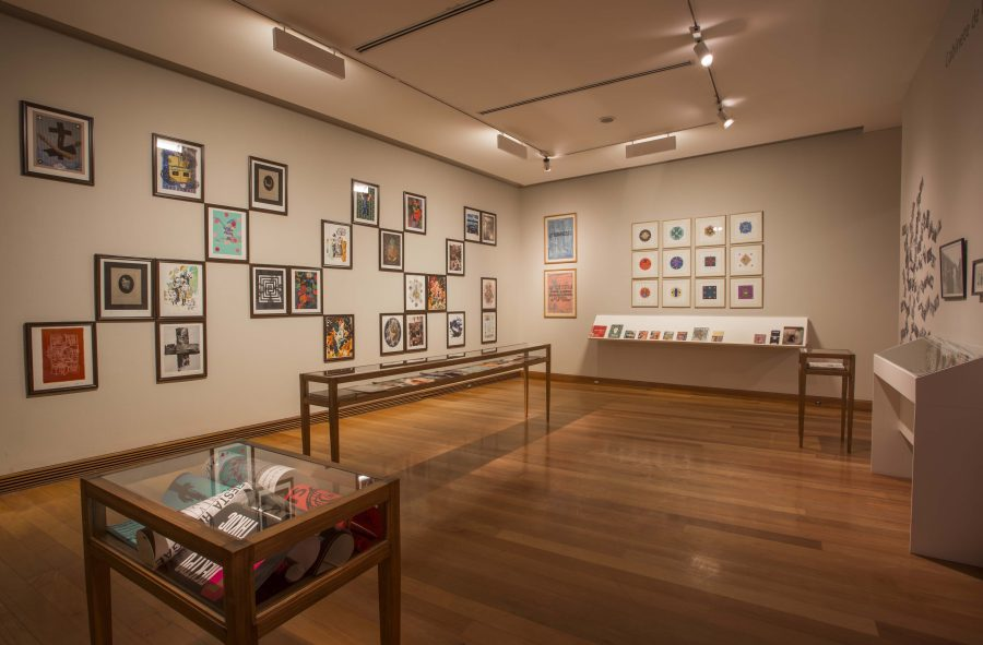"""Vista de la exposición """"Los Dominios Perdidos"""", Museo de Artes Visuales (MAVI), Santiago de Chile, 2019. Foto: Jorge Brantmayer"""