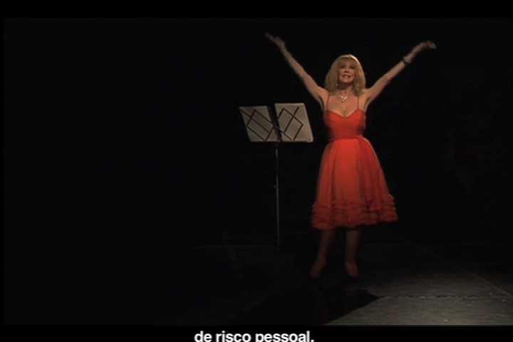 Ana Gallardo, A boca de jarro. Silvia Mónica, 2008. Mujer: Silvia Mónica. Duración Aproximada: 6 minutos. Cortesía de la artista