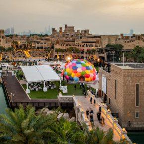 Solaroca, de Opavivará, obra comisionada por Art Dubai 2019. Cortesía Photo Solutions