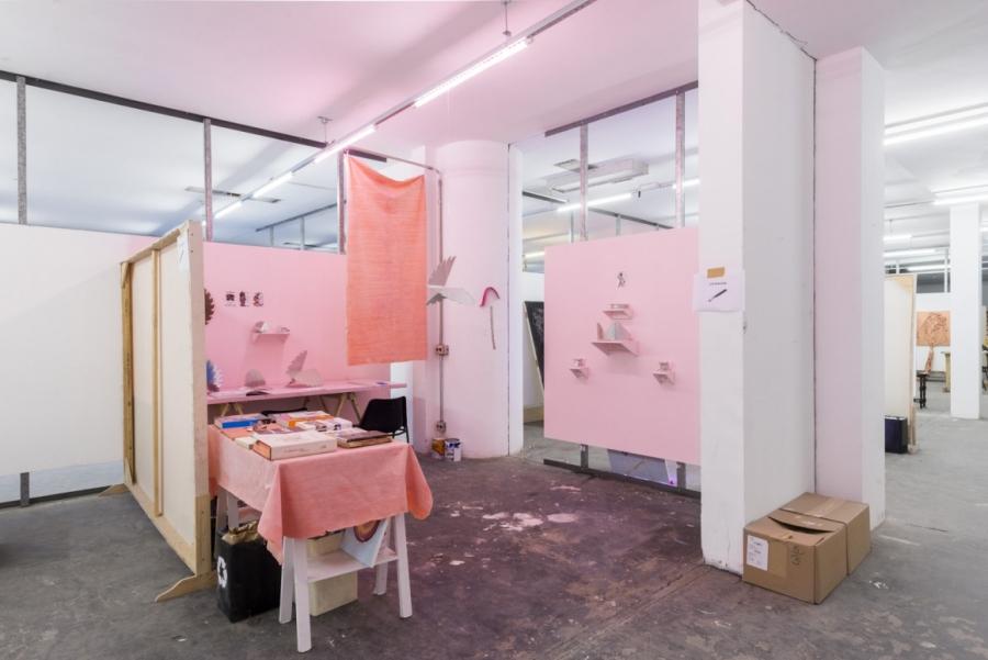 Uno de los talleres del espacio residencial de Pivô. Foto: © Julia Thompson