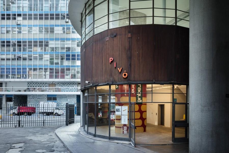 Vista exterior de Pivô. Edificio Copan, São Paulo © Everton Ballardin