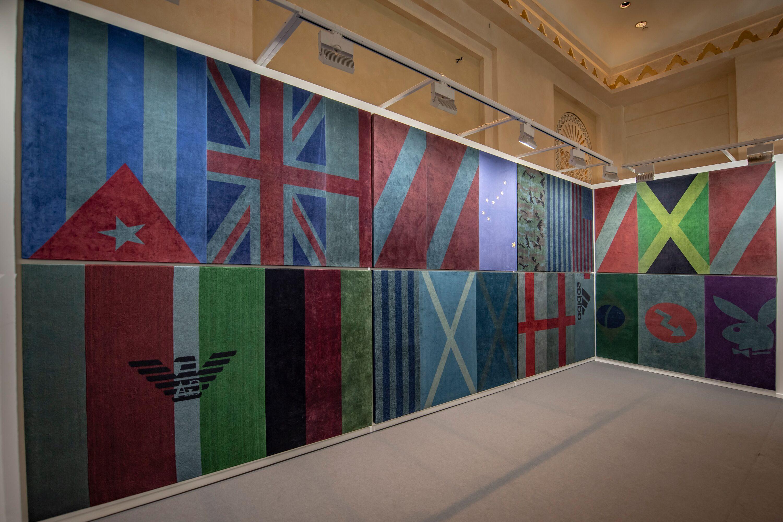Alexandre da Cunha, Affairs, 2019. Vista de la instalación en el stand de la galería Luis Strina (Brasil), sección Residents de la feria Art Dubai, 2019. Foto cortesía de Art Dubai