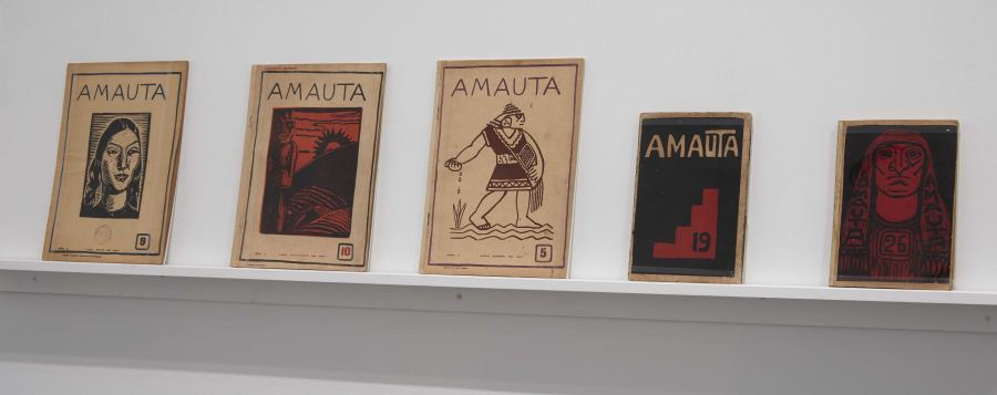 """Vista de la exposición """"Redes de Vanguardia: Amauta y América Latina, 1926-1930"""", en el Museo Reina Sofía, Madrid, 2019. Foto: Joaquín Cortés/Román Lores. Archivo Fotográfico Museo Reina Sofía"""