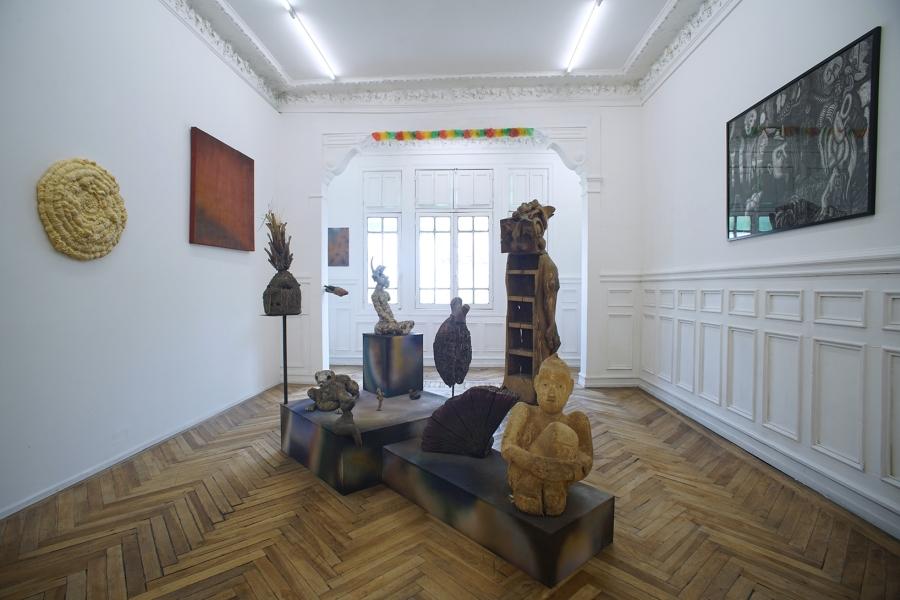 Vista de la exposición de José Calman en The Intuitive Machine (TIM), Santiago de Chile, 2019. Foto cortesía de TIM