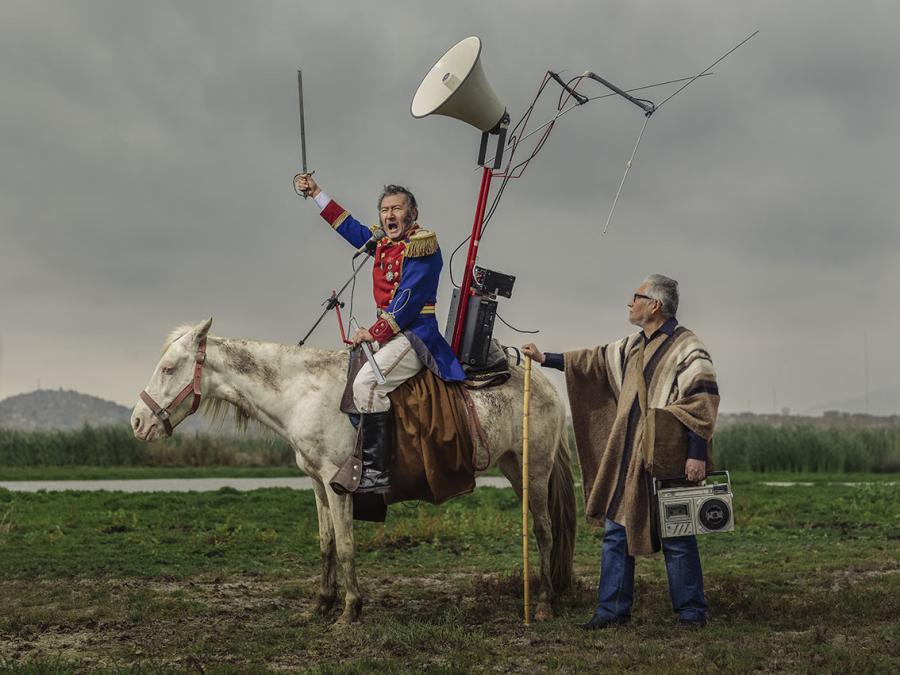 Huanchaco, O'Higgins, 2017, fotografía impresa en papel algodón, 106 x 139 cms. Cortesía Aninat Galería de Arte (Santiago de Chile)