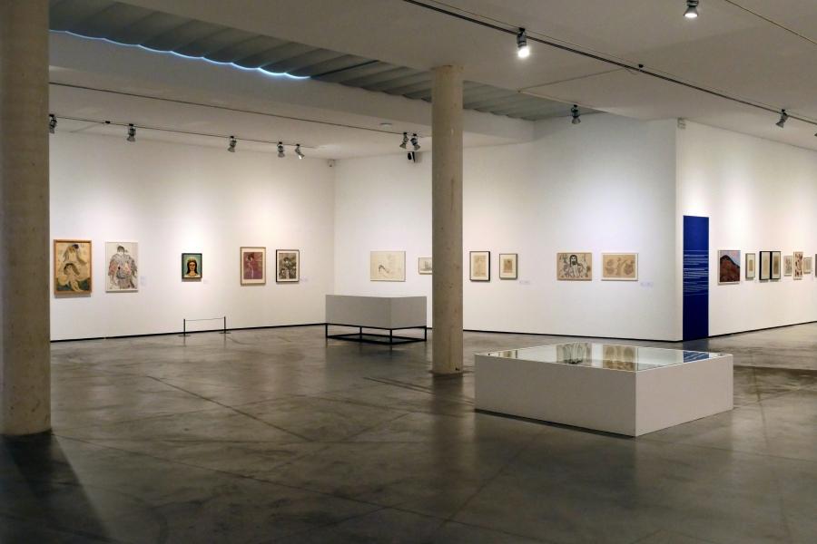 """Vista de la exposición """"Alma. Médiums y visionarias"""". Foto: © Es Baluard Museu d'Art Modern i Contemporani de Palma"""
